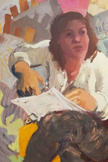Wendy Sharpe – Paris, Past, Present, Imagined.