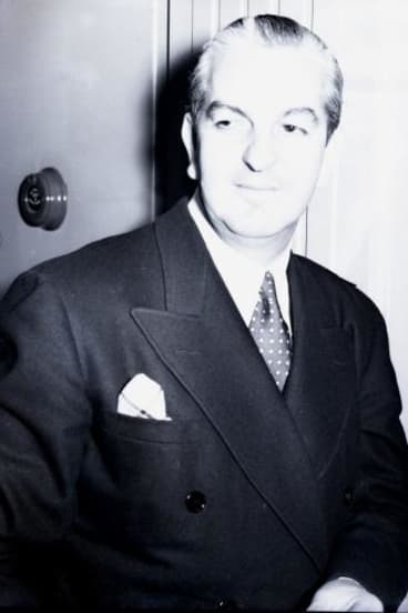 He liked it hot: Australian born Hollywood costume designer Orry-Kelly in 1939.