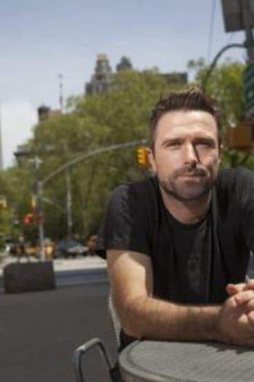 Director David Michod in New York.
