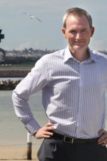 Rebel with a cause: NSW backbencher David Coleman.