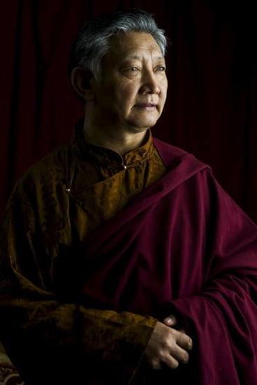 Lama Choedak Rinpoche, of the Buddhist Society of Canberra.