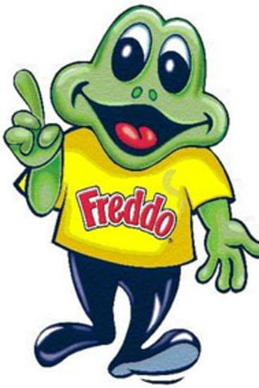 Freddo Frog: the chocolate at the centre of the saga.