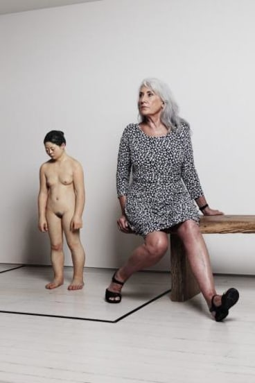 Arts philanthropist Judith Neilson at her White Rabbit Gallery.