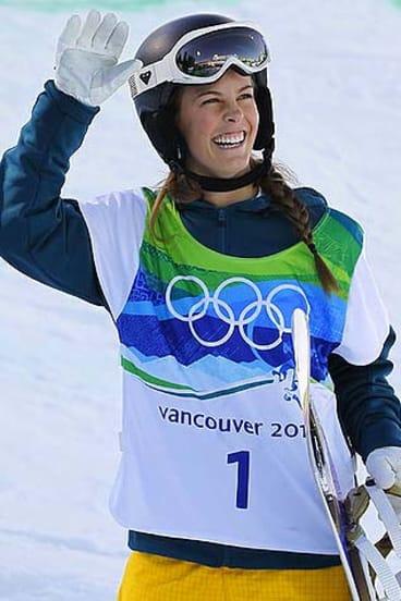 Olympic gold medalist Torah Bright.