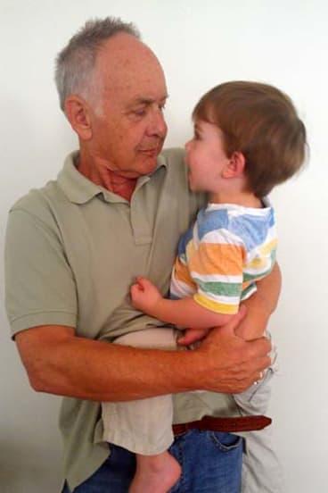 Bailey with their son Ollie.