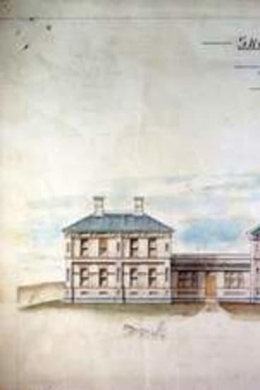 Edmund Cooper Manfred's Goulburn Hospital design.