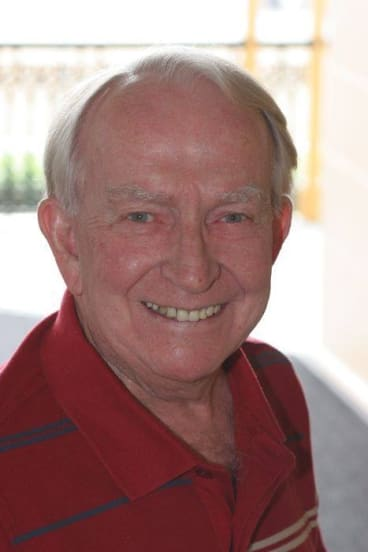 former Channel 7 newsreader and passionate arts supporter Brian Cahill.