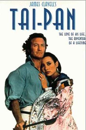 Australian actor Bryan Brown in the film adaptation of Tai-Pan.