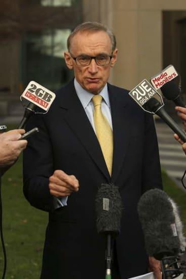 Foreign Minister Senator Bob Carr.