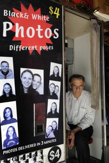After 38 years of smiling for the camera, photo booth owner and operator Alan Adler says his business faces an uncertain future.