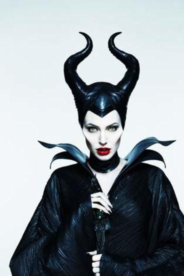 Creeping beauty: Angelina Jolie as Maleficent.
