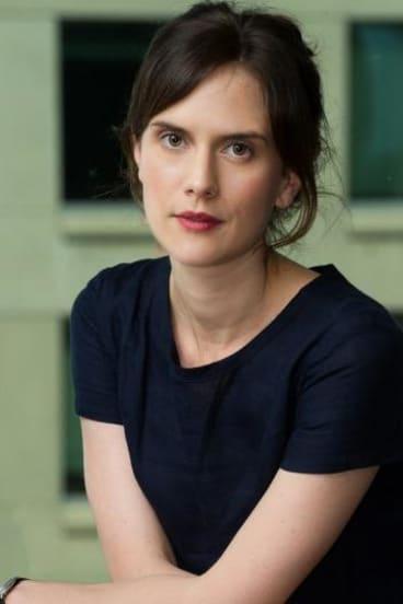 Author Stephanie Bishop.