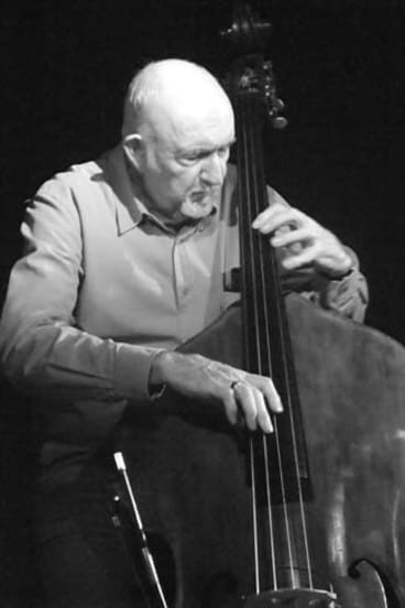 In demand … Ed Gaston was sought after by band leaders, and was the first-choice bassist for many overseas acts touring Australia.