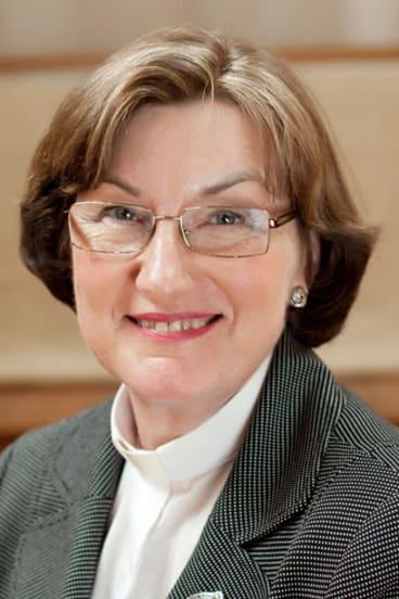 Archdeacon Alison-Taylor, Brisbane's first female bishop.