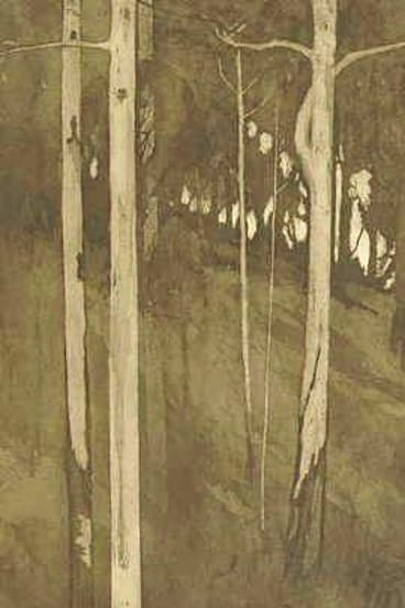 Jessie Traill's ''Good night in the gully where the white gums grow 1922''.