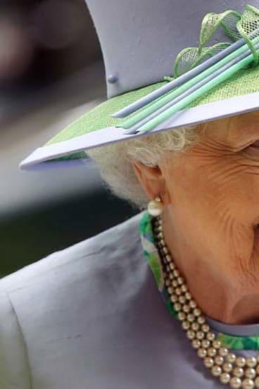 Embodied a brighter future ... Elizabeth II, whose diamond jubilee is Britain's second.