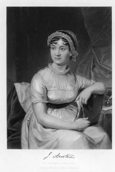 Writer Jane Austen practised the piano every morning until 9.