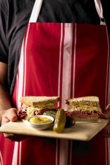 The Carre St Deli's take on the classic sandwich.