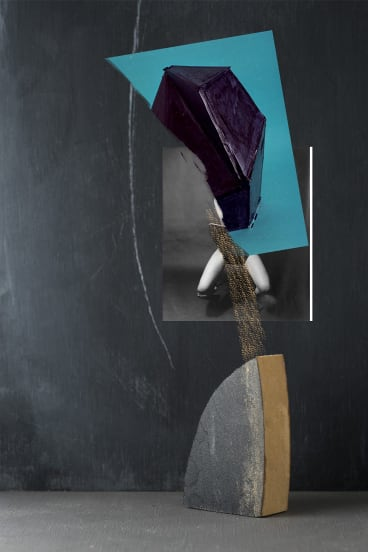 """The Chair"", 2017, c type print, acrylic, di-bond, 60 x 83 cm, unique print."