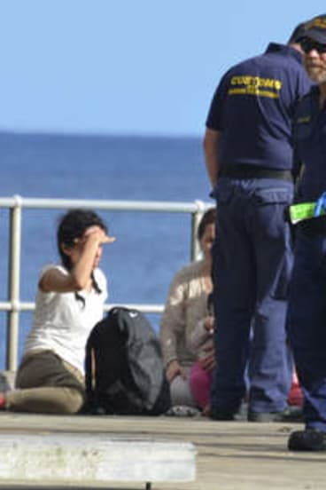 Asylum seekers arrive in Australian waters. Now, they will be turned away.