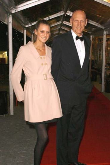 Peter Garrett and his daughter Grace.