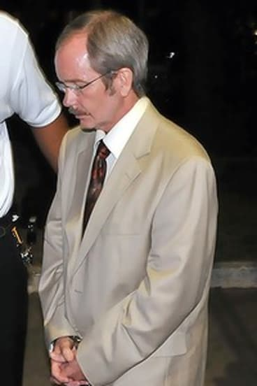 Former dive shop owner David Swain was convicted of killing his wife in the Caribbean.