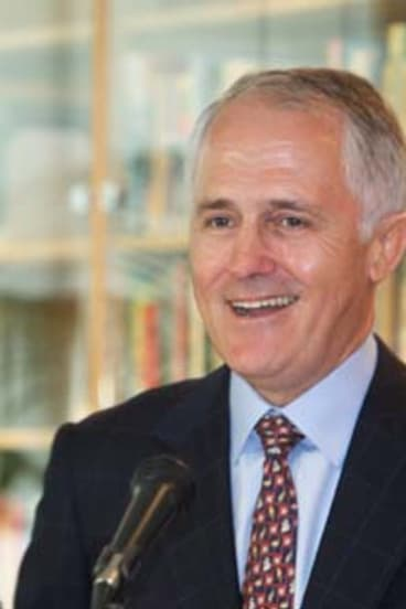 Two of a kind ... Malcolm Turnbull.