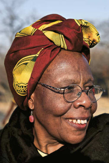 """Woman of substance …""""Everyone knew that one day I would be tortured"""": Sydney Peace Prize recipient Sekai Holland."""