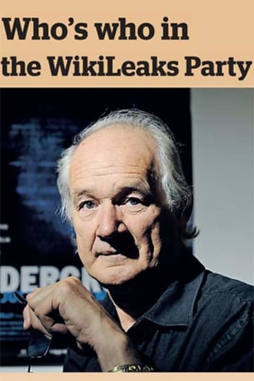 Quite the party... the ten people Julian Assange trusts the most.