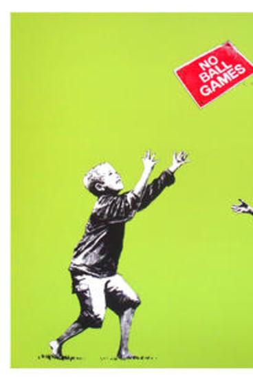 Banksy's <i>No Ball Games</i>: Go ahead, nick it.