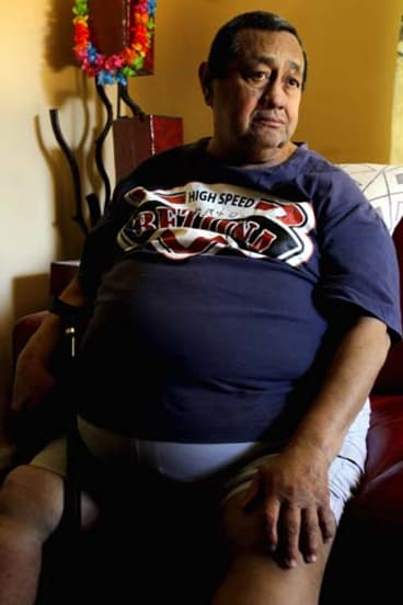 Seeking damages: Luis Almario sued his doctor for failing to make him lose weight.