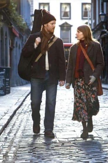 On screen: Glen Hansard and Marketa Irglova's performance in the 2007 film <i>Once</i> won them fans worldwide.