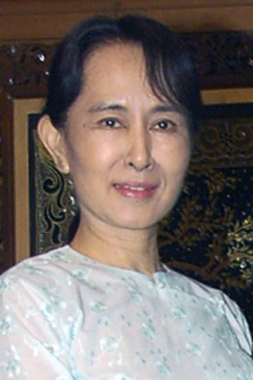 Five more years in jail ... Aung San Suu Kyi.