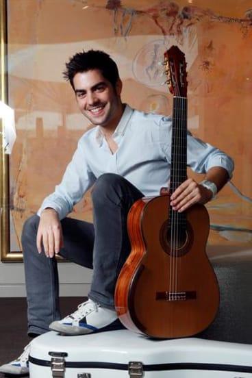 Guitarist Milos Karadaglic.