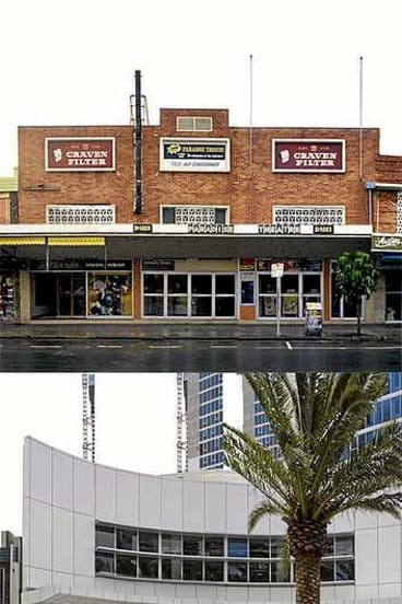 Old and new: Photographer John Gollings' <i>Learning From Surfers Paradise</i> at the RMIT Design Hub.