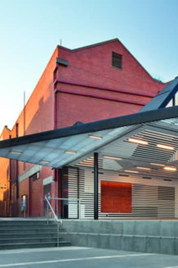 An outside view of the Art Gallery of Ballarat Annexe.