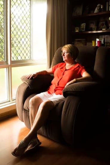 Rare diagnosis: Sue Stewart, of Darwin, has to fly to Melbourne for cancer treatment.