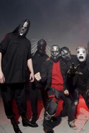 Metal veterans Slipknot.
