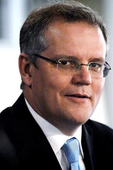 Opposition immigration spokesman Scott Morrison