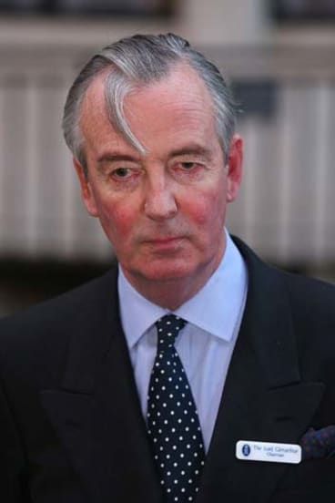Chairman of King Edward VII's Hospital, London ... Lord Glenarthur.