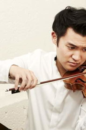 Tone ... Taiwanese violinist Ray Chen.