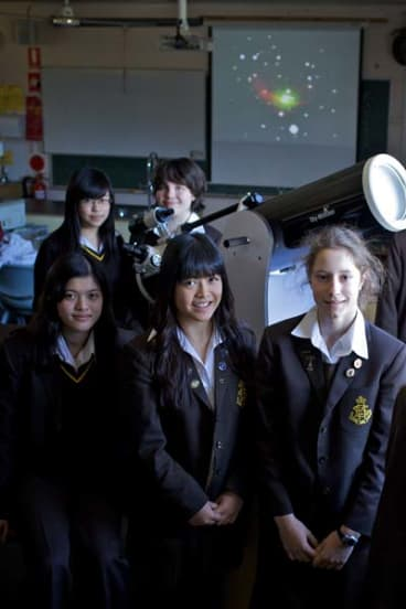 Research published ... Sydney Girls High astronomers.