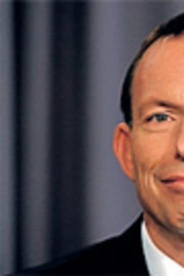 Tony Abbott: Toned down remarks