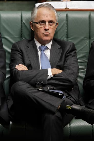 """Malcolm Turnbull ... """"Every member of the House of Representatives has a field-marshal's baton, or the leader's baton, in their knapsack."""""""