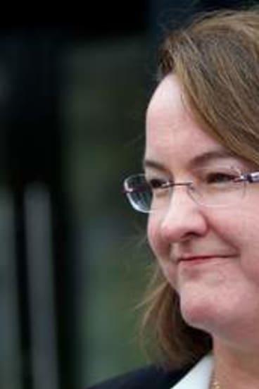 Community Services Minister Mary Wooldridge.