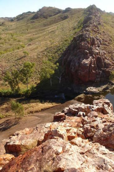Strelley Pool in the Pilbara, where  3.4 billion-year-old fossils have been found.