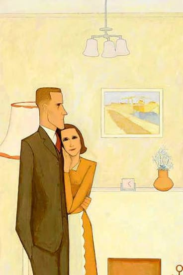 <i>The New House</I> 1953, by John Brack, was bought for $1,952,000 by the Art Gallery of NSW.