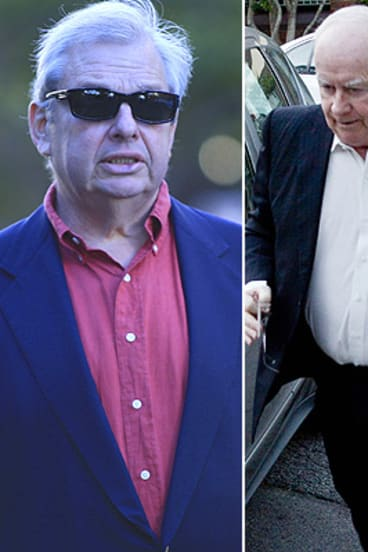 PM's media dinner: Piers Akerman, left, and Paul Kelly.