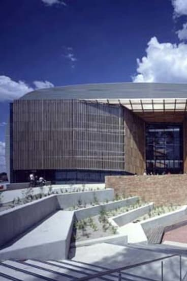 Deakin's international centre and business building.