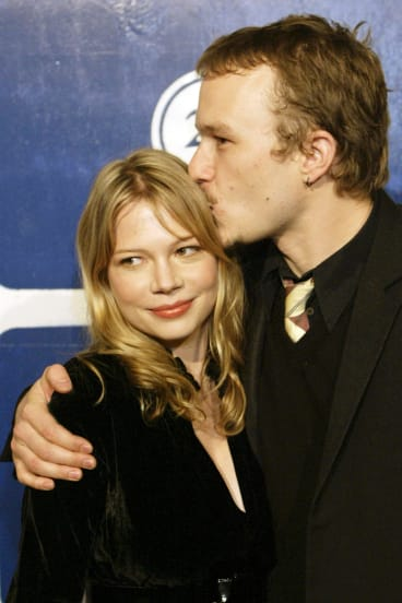 Ledger and Michelle Williams at the Gotham Awards in New York in 2005.